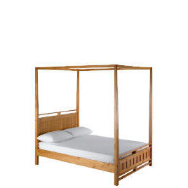 Bento Double 4 Poster bedstead, Natural Reviews
