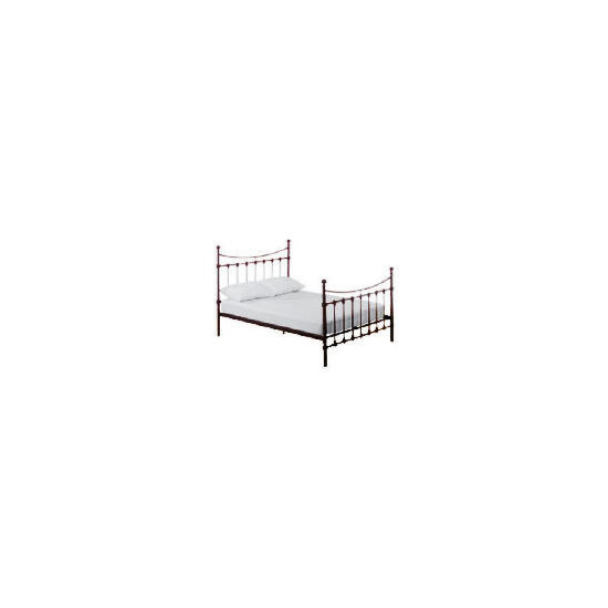 Suffolk King Metal Bedstead, Black