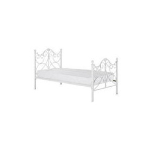 Photo of Rochelle Single Bedstead, Cream Bedding