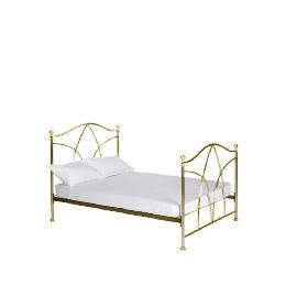 Modena King Bedstead, Antique Brass finish Reviews