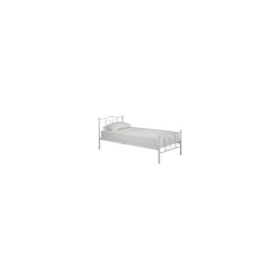 Molly Metal Bed, White