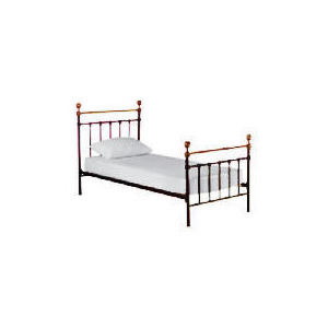 Photo of Banbury Single Bedstead, Black Bedding
