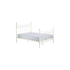 Photo of Suffolk King Bedstead, Cream Bedding