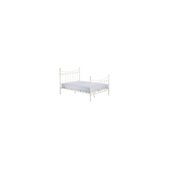 Suffolk King Bedstead, Cream