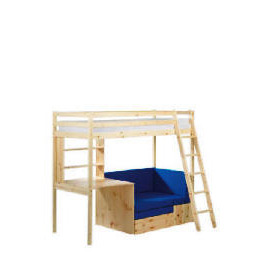 Pine High Sleeper and Office, Natural Laquered Reviews