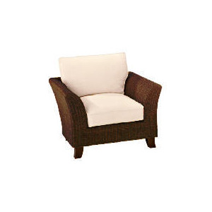 Photo of Guyana Dark Rattan Chair, Natural Furniture