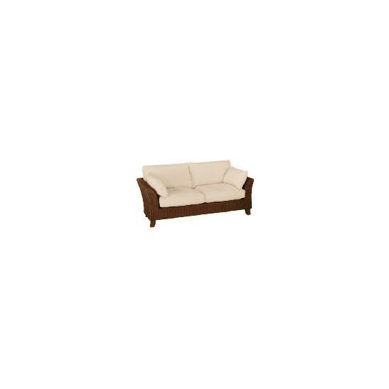 Guyana dark rattan Sofa, Natural