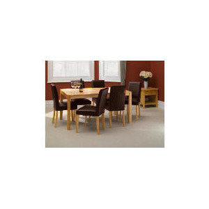 Photo of Campania Rubberwood 6 Seat Table Furniture