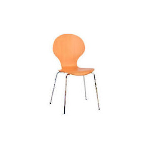 Photo of Bistro Pair Of Stacking Chairs, Beech Veneer Furniture
