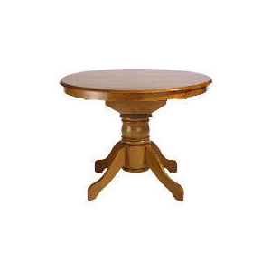 Photo of Whitton Extending Pedestal Table, Antique Finish Furniture