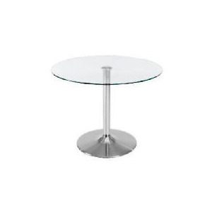 Photo of Novara Dining Table, Clear Glass Furniture