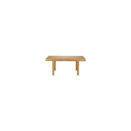 Monzora Dining Table, Oak Effect