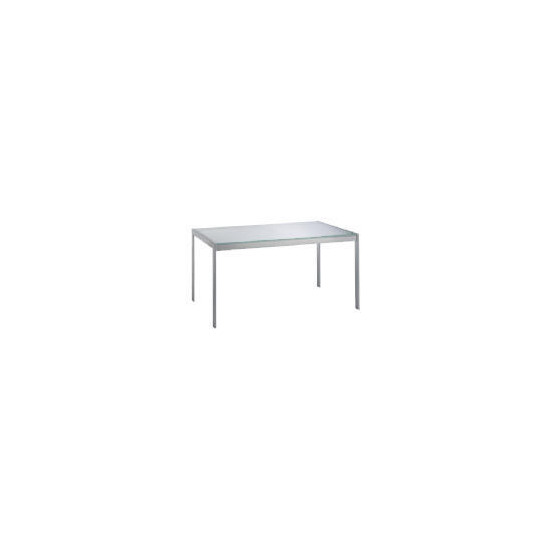 Stanford Glass & Metal 6 Seat Table