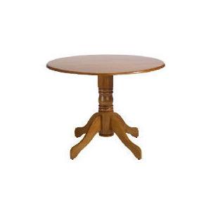 Photo of Whitton Pedestal Table, Antique Finish Furniture