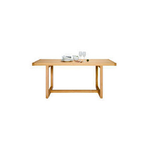 Photo of Finest Retiro Dining Table, Oak Finish Furniture