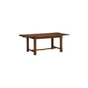 Photo of Malvern Wooden Dining Table, Dark Finish Furniture