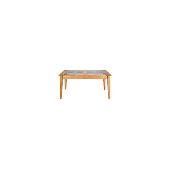 Lavenham Oak & Glass Dining Table