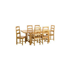 Photo of Malvern Wooden Dining Table - Antique Effect Furniture