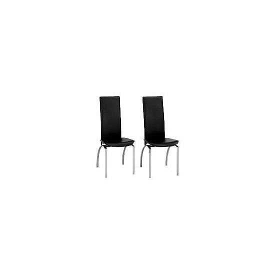 Yakima Pair of Chairs, Black