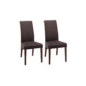 Photo of Florence Pair Of Chairs, Dark Wood & Antiqued Furniture