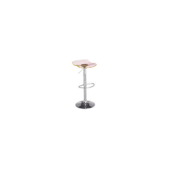 Milazzo Barstool, Clear