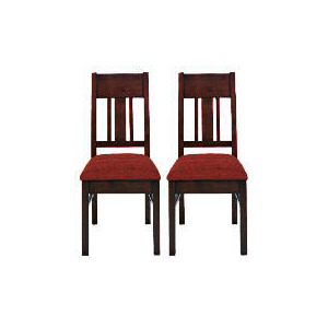 Photo of Finest Malabar Pair Of Chairs, Red Furniture