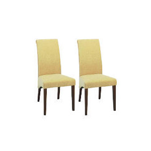 Photo of Florence Pair Of Chairs, Dark Wood & Honey Furniture