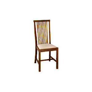 Photo of Rochester Pair Of Dining Chairs, Dark Brown Furniture
