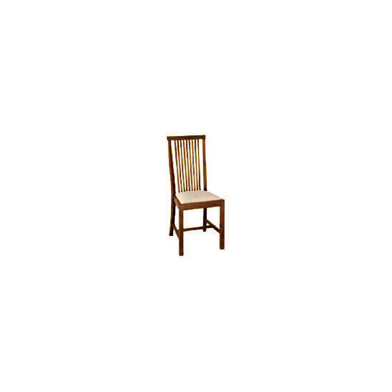 Rochester Pair of Dining Chairs, Dark Brown