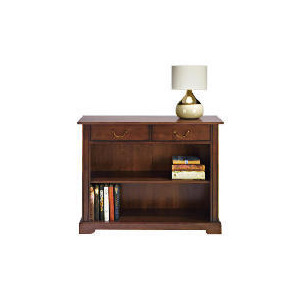 Photo of Finest Malabar 2 Drawer Console, Dark Wood Finish Furniture
