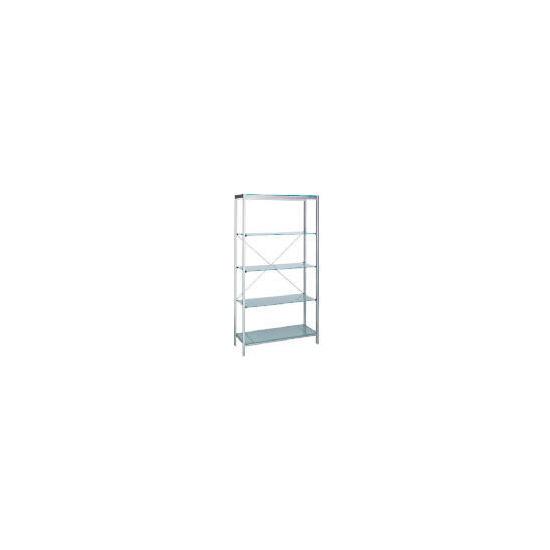Stanford Glass & Metal 4 shelf Storage