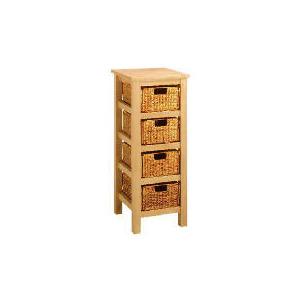 Photo of Manila 4 Drawer Storage, Natural Furniture