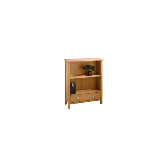 Oakland 1 drawer Low Bookcase