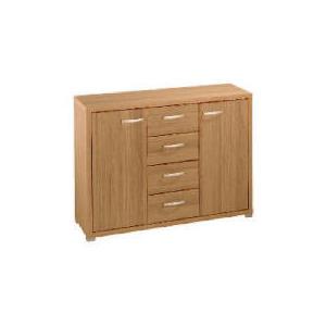 Photo of Munich 2 Door 4 Drawer Sideboard, Oak Effect Furniture