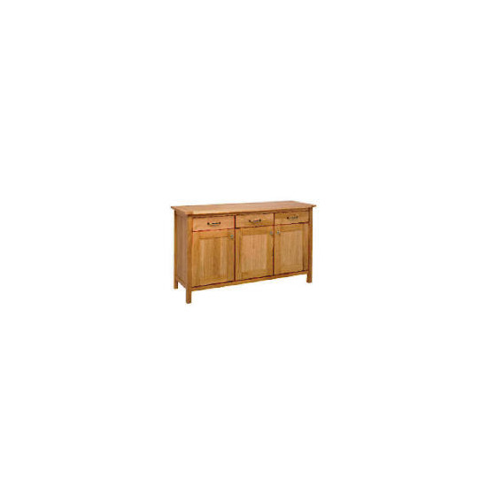 Hamilton Sideboard 3 drawer 3 door, Oak