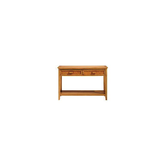 Belize 2 drawer Console Table, antique finish