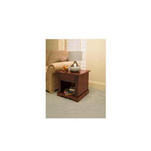 Photo of Finest Malabar Side Table, Dark Wood Finish Furniture
