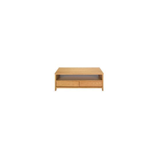 Monzora 2 drawer Coffee Table, Oak Effect