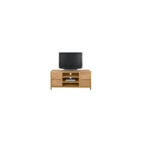 Monzora 4 drawer Tv Unit, Oak Effect
