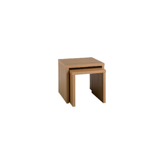 Carena Oak Effect Nest Set Of 2 Tables