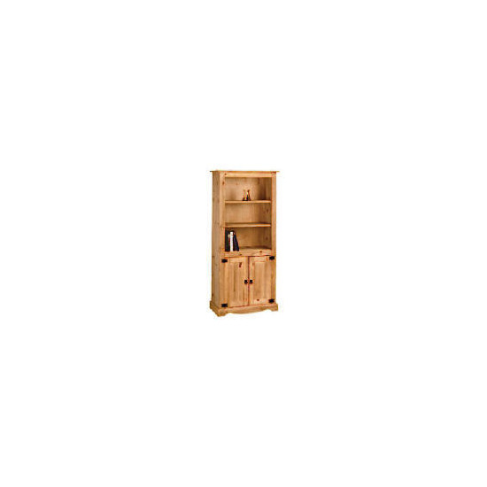 Honduras 2 door Bookcase, Pine