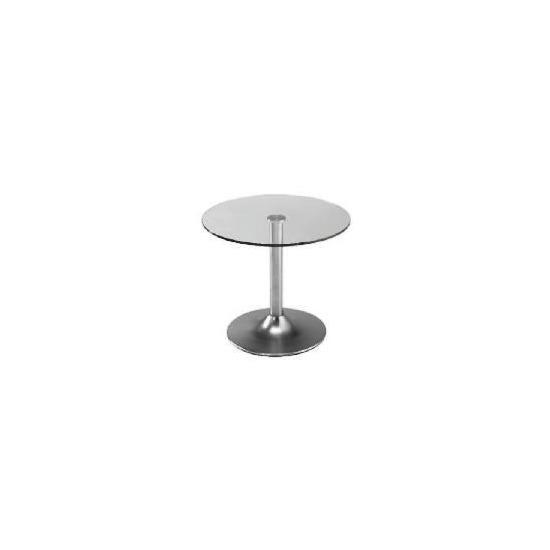Novara Side Table, Glass