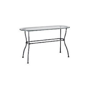 Photo of Selerno Glass & Metal Console Table Furniture