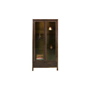 Photo of Hanoi Display Cabinet, Walnut Effect Furniture