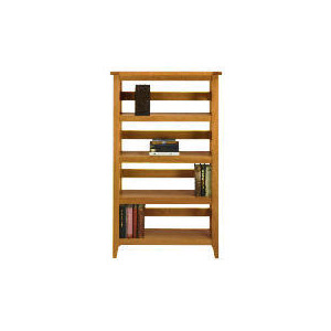 Photo of Lavenham Oak & Glass Bookcase Furniture