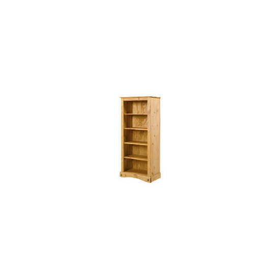 Honduras open tall bookcase, pine