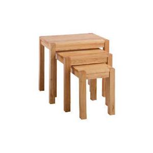 Photo of Campania Rubberwood Nest Set Of 3 Tables Furniture