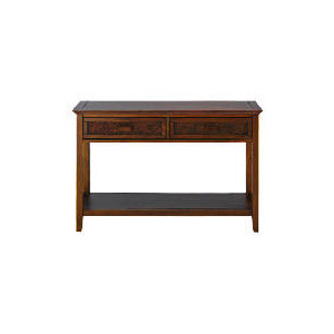 Photo of Belize 2 Drawer Console Table, Dark Finish Furniture