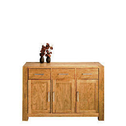 Tribeca 3 drawer 3 doors Sideboard, Oak Effect Reviews