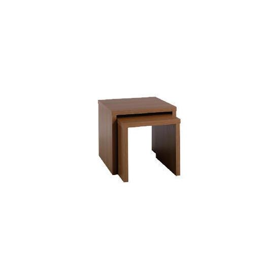 Carena Walnut Effect Nest Set Of 2 Tables